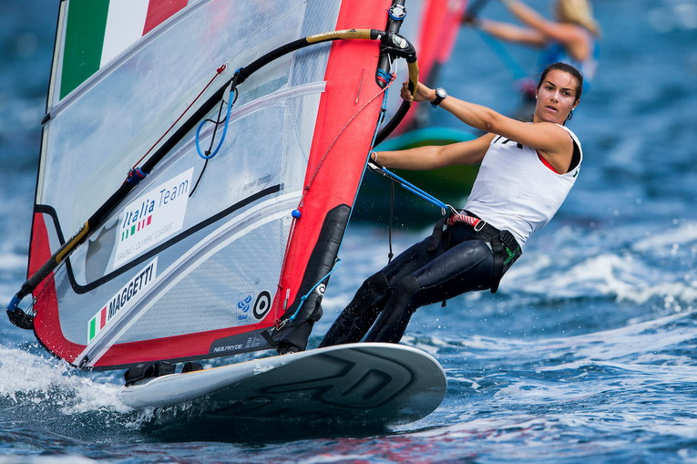 Vela, Campionati Europei RS:X: Seconda giornata
