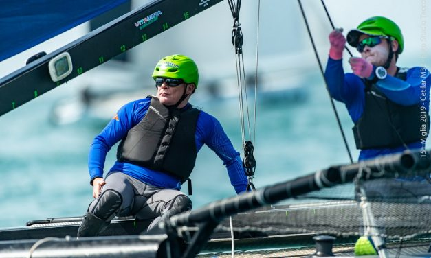 Vitamina Sailing in regata nella classe Clubswan 50